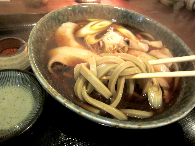 札幌市内『温かい田舎蕎麦』