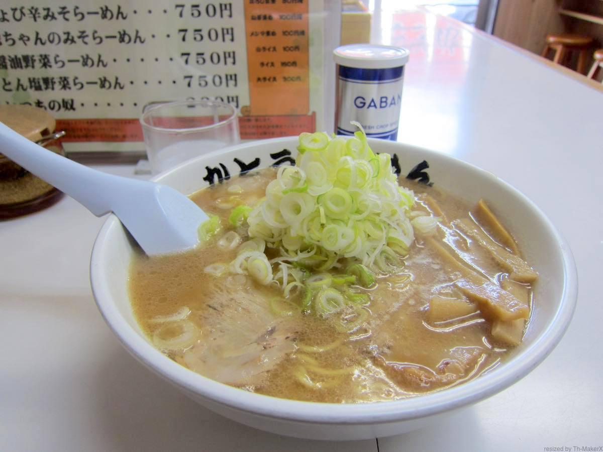 札幌市豊平区『かとうらーめん 月寒店』