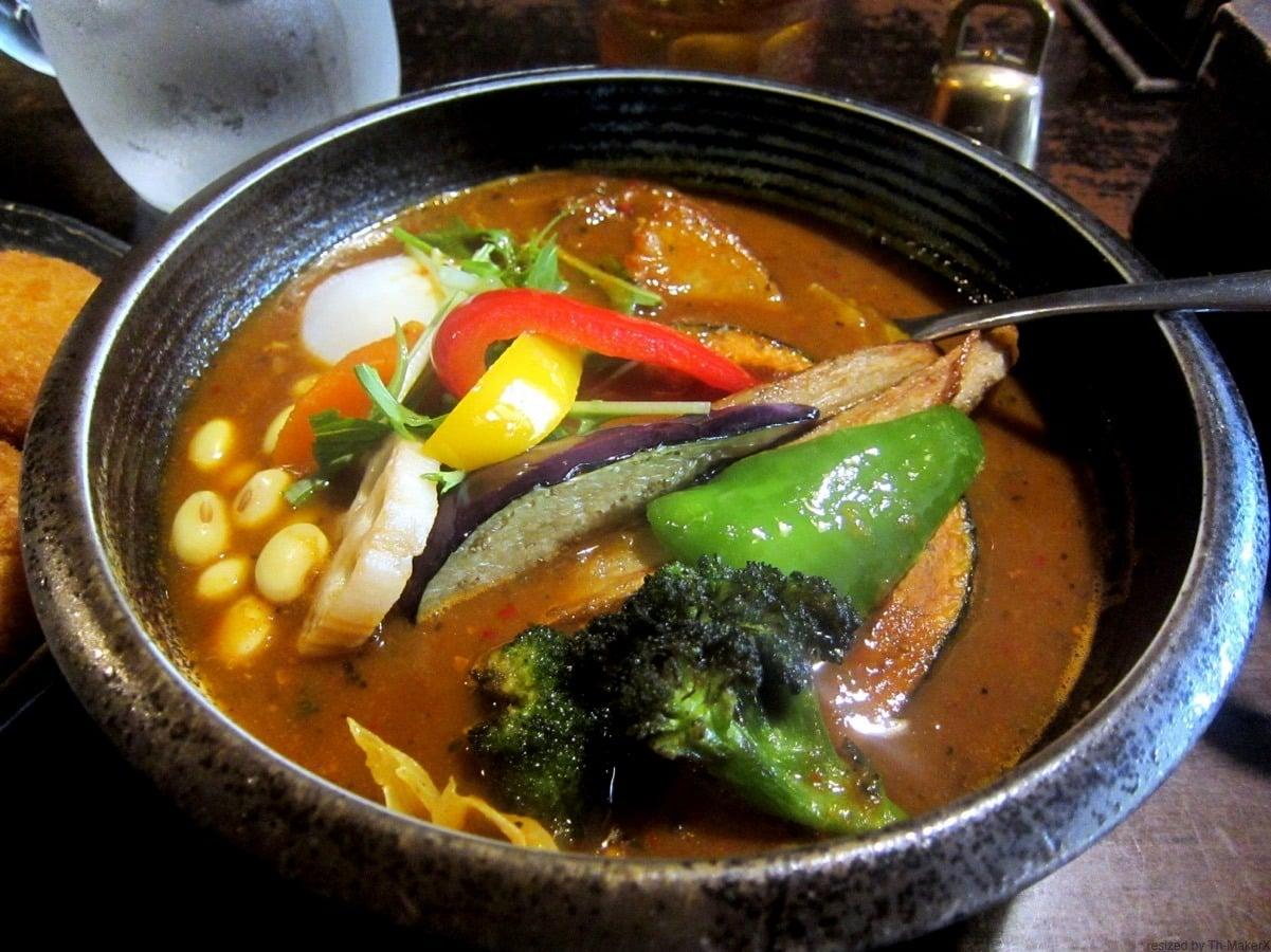 札幌市豊平区『Rojiura Curry SAMURAI. 平岸総本店:路地裏 カリー 侍』